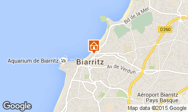 Karte Biarritz Studio 93702
