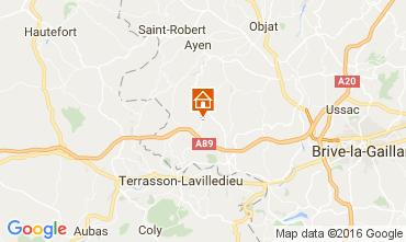 Karte Brive-la-Gaillarde Haus 107031