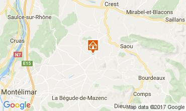 Karte Montélimar Haus 111004