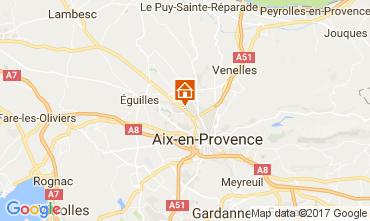 Karte Aix en Provence Appartement 111513