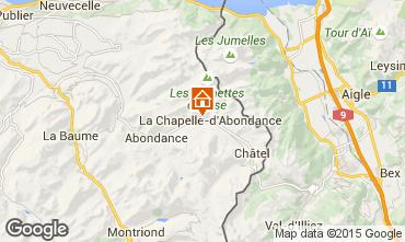 Karte La Chapelle d'Abondance Chalet 94027