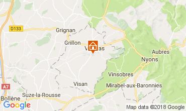 Karte Valréas Haus 112852