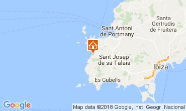 Karte Cala Vadella Villa 112785