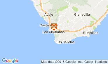 Karte Los Cristianos Appartement 115856
