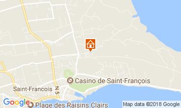Karte Saint Francois Ferienunterkunft auf dem Land 16331
