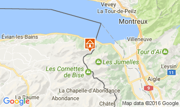 Karte Evian les Bains Haus 84422