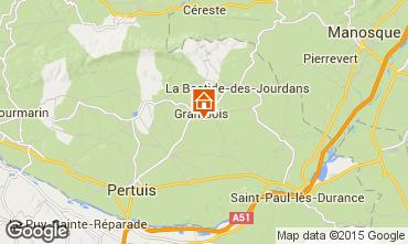 Karte La Tour d'Aigues Villa 88824