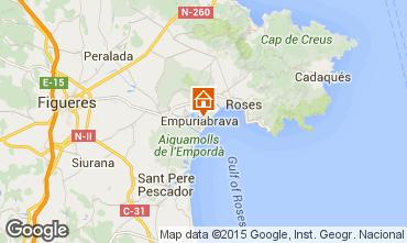 Karte Empuriabrava Appartement 41310