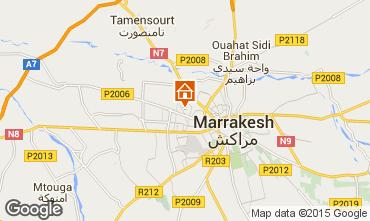 Karte Marrakesch Villa 50135