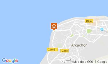 Karte Arcachon Studio 110773