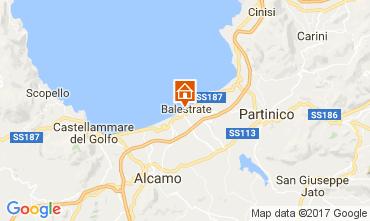 Karte Balestrate Appartement 73995