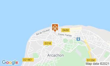 Karte Arcachon Studio 98573