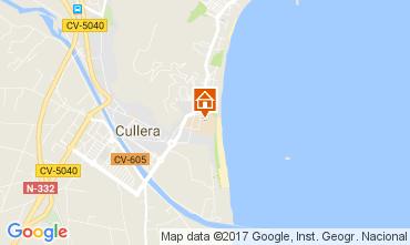 Karte Cullera Appartement 111311