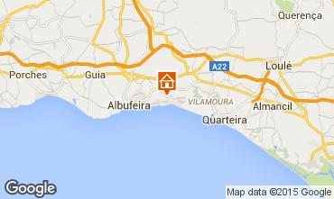 Karte Albufeira Villa 57069