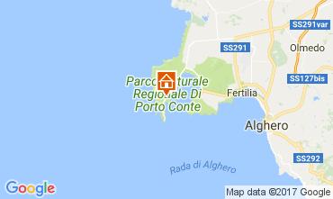 Karte Alghero Villa 107841