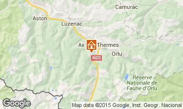 Karte Ax Les Thermes Chalet 3915