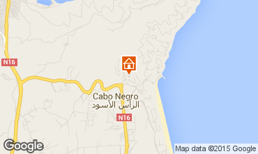 Karte Cabo Negro Appartement 72254