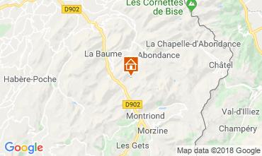 Karte Morzine Chalet 116537