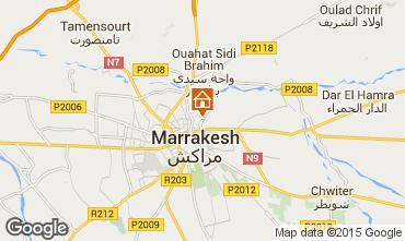 Karte Marrakesch Villa 14094