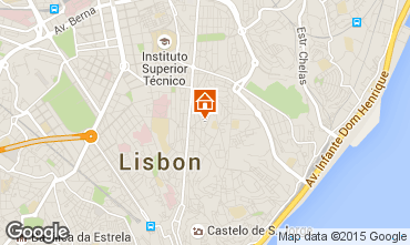 Karte Lissabon Appartement 68982