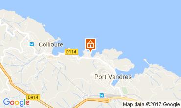 Karte Collioure Appartement 107920