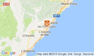 Karte La Ametlla de Mar Villa 113378