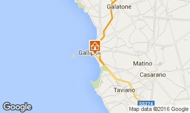Karte Gallipoli Appartement 97119