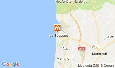 Karte Le Touquet Appartement 106167