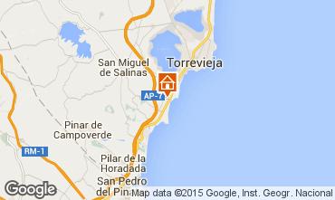Karte Torrevieja Appartement 65502