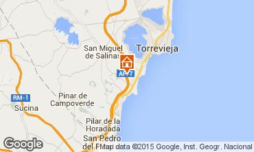 Karte Torrevieja Appartement 77554