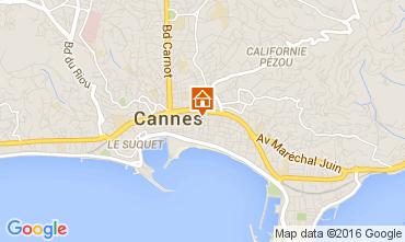 Karte Cannes Studio 105148