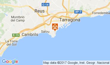 Karte La Pineda Appartement 109516
