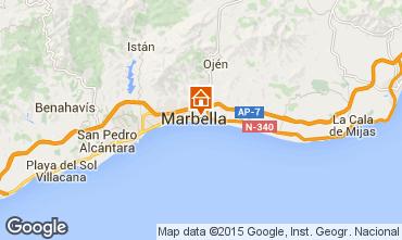 Karte Marbella Appartement 100769