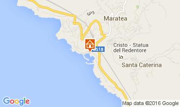 Karte Maratea Haus 20810