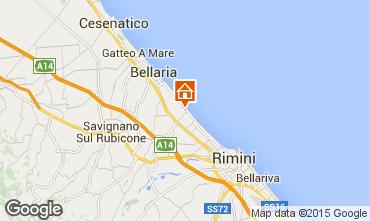 Karte Rimini Appartement 40527