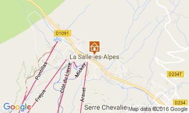 Karte Serre Chevalier Chalet 50040