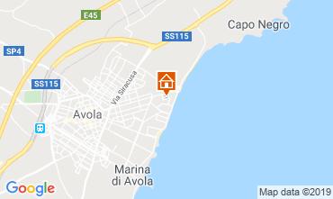 Karte Avola Villa 107899
