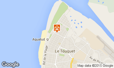 Karte Le Touquet Villa 101677