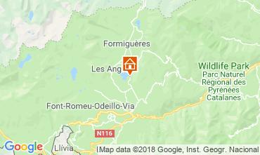 Karte Les Angles Chalet 116825