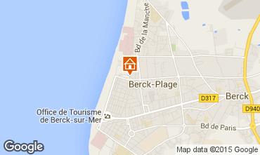 Karte Berck-Plage Studio 71256