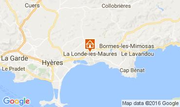 Karte Le Lavandou Villa 97056