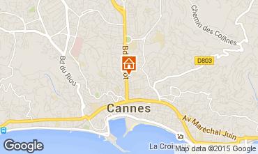 Karte Cannes Appartement 100603