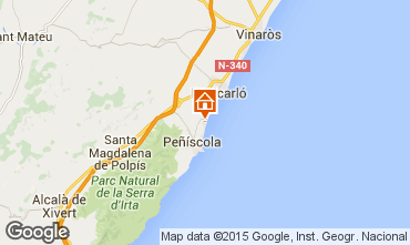 Karte Peñíscola Appartement 32781