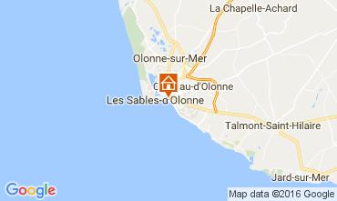 Karte Les  Sables d'Olonne Appartement 76224