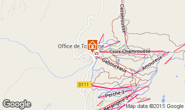 Karte Chamrousse Appartement 100483