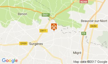 Karte La Rochelle Villa 107743