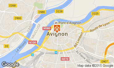 Karte Avignon Villa 83403