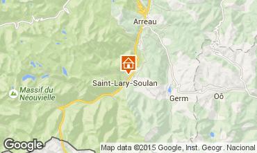 Karte Saint Lary Soulan Appartement 101797