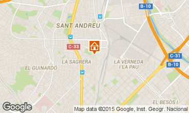 Karte Barcelona Appartement 60240