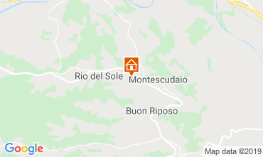 Karte Montescudaio Studio 116189